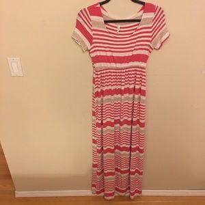 PinkBlush Maternity maxi dress